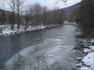 Battenkill River in Arlington VT. Credit Gplefka/Wikimedia Commons Public Domain